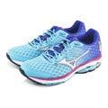 【美津濃MIZUNO】全新 WAVE RIDER 18女慢跑鞋 (淺藍/紫)J1GD150307
