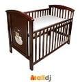 Malldj親子購物網 - GMP BABY 睡熊大咖啡床(含墊)+成長側板 #PB54008030002900