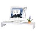《Homelike》伸縮式桌上型置物架 螢幕架 伸縮架 書架 桌上架 書櫃(二色任選)