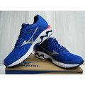 新莊新太陽 MIZUNO 美津濃 WAVE INSPIRE 11 J1GC154405 男用 慢跑鞋 藍X白色 特2700