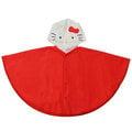 日本版Hello Kitty造型雨披式幼童雨衣/幼兒/兒童雨具-久保商店