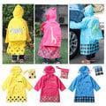 【Q Mi shop】Smally可愛兒童寶寶雨衣雨衣帶書包位(黃/桃/藍)