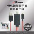 行動高畫質HDMI電視影音輸出線MHL 3米加長版【杰強國際】