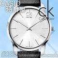 CASIO 時計屋 瑞士 CK手錶 Calvin Klein男錶 K2G211C6 大錶徑 皮革錶帶 全新有保固 附發票