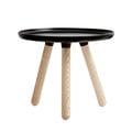 丹麥 Normann Copenhagen Tablo Table Small 迴旋 圓桌 / 茶几 小尺寸(黑色/原木色桌腳)