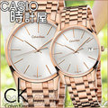 CASIO 時計屋 瑞士 CK對錶 K4N21646+K4N23646 玫瑰金 日期 不鏽鋼 情人對錶 全新有保固 附發票