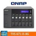 【綠蔭-全店免運】QNAP TVS-671-i5-8G 網路儲存伺服器