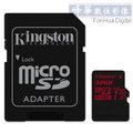 KingSton 金士頓 microSDHC 32GB UHS-I U3 90MB/s(讀)&80MB/s(寫) 高速記憶卡 (終身保固) SDCA3 microSD