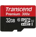 Transcend 創見 Micro SDHC TF 32G C10 UHS-I 高速記憶卡 附轉卡 (TS32GUSDU1)