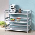 《Homelike》鋁合金3尺三層置物架 置物櫃 收納櫃 廚房收納 免組裝免運費