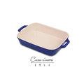 Staub 長型烤盤 14x11cm 藍色