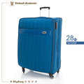 Kinloch Anderson 金安德森 行李箱 KA154202BL 藍色 28吋 經典格紋旅行箱 MyBag得意時袋