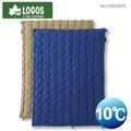 ├登山樂┤日本LOGOS 2合1丸洗化纖睡袋組10℃ 藍 #72600670
