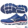 MIZUNO 美津濃 WAVE INSPIRE 11 男慢跑鞋(藍*銀) 中低足弓跑者 2015年新款發燒貨