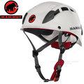 【瑞士 MAMMUT 長毛象】新款 Skywalker 2 Helmet 安全頭盔.岩盔.攀岩頭盔.安全帽.登山帽/EPS內部吸震.通風.堅固.登山.攀岩/00050-0243 白