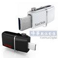 SanDisk Ultra Dual USB Drive 3.0 32GB USB 3.0 OTG 雙用隨身碟 (公司貨, SDDD2-032G ) 支援 Android 手機 / 平板電腦