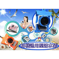 數配樂 Kamera T-015M 相機 防水袋 微單眼 潛水袋 防水套 NXmini ZR1500 ZR1200 藍色