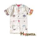 限量特價~嬰幼兒睡袍-Baby Joy World-日本Hoppetta蘑菇六層紗3WAY包腳睡袍
