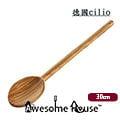 德國品牌CILIO TOSCANA系列 30 cm 橄欖木 長匙長勺 木勺