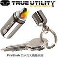 [登山屋] True Utility FireStash防水打火機鑰匙圈 TU262G 禮盒版