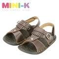Mini-K-夏天海風涼鞋-KS25835-咖