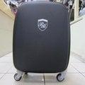 ~雪黛屋~RINSON MARTIN 29吋拉桿行李箱 台灣製造品質保證360度靈活旋轉輪 輕巧好拖拉 鋁合金拉桿可再加大空間收納量大 #9118A黑/紫