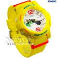 Baby-G CASIO 卡西歐 BGA-180-9BDR 卡西歐 BGA-180-9B 霓虹滑板運動電子錶 女錶 螢光黃