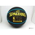 【圓融文具小妹】斯伯丁 SPALDING NBA Highlight 五芒星 - Rubber 藍黃色 SPA83199 市價720元 售價526元 歡迎選購