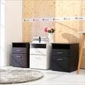 《BuyJM》防潑水無銳角檔案櫃/床頭櫃/3色可選