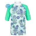 兒童泳衣 防曬短袖上衣★特價五折★ 澳洲鴨嘴獸 UPF 50+ 抗UV (大女10-14歲)