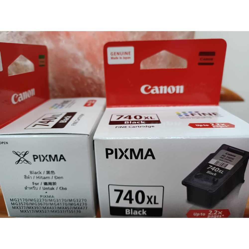 CANON PG-740XL 原廠高容量黑色MG2170/MG3170/MG4170/MX377/MX437/MX517MG2270 / MG3270 / MG4270原廠