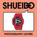 集英堂写真機【全國免運】CASIO 卡西歐 G-SHOCK GA-110SL-4AJF 街頭 極限運動 系列 紅色