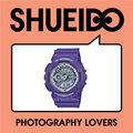 集英堂写真機【全國免運】CASIO 卡西歐 G-SHOCK GA-110DN-6AJF 霓虹燈 Dusty Neon Series 紫色