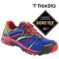 【Treksta】EVOLUTION 161 男 GORE-TEX 防水透氣 越野跑鞋 『藍色/黃』 健行鞋 登山鞋 KR15AM