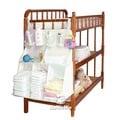 嬰兒床置物掛櫃 嬰兒床立體掛包 掛袋 置物袋 SS9161 好娃娃