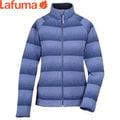丹大戶外【Lafuma】法國LD D-Idaho Zip女性輕薄刷毛條紋配色保暖外套/伊達荷夾克 LFV8451-5603 薰衣草紫