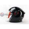 [中壢安信] 義大利 AGV K-5 K5 JET 素色 黑色 半罩 安全帽 內建墨片