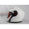 [中壢安信] 義大利 AGV K-5 K5 JET 素色 白色 半罩 安全帽 內建墨片