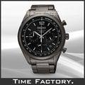 【時間工廠】全新原廠正品 SEIKO 時尚黑三眼賽車錶 SSB093P1