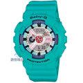 【錶飾精品】現貨卡西歐CASIO Baby-G雙顯撞色配置 BA-110SN-3A藍X白BA-110SN-3ADR/ER