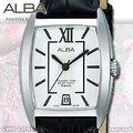 CASIO手錶專賣店 國隆 ALBA精工 AG8473X1 白面 日期 方形 皮革女錶 全新品 保固一年 開發票