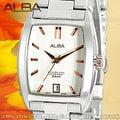 CASIO 時計屋 SEIKO ALBA 亞柏 AG8461X1 日期 方形 不鏽鋼 女錶 全新 保固 附發票