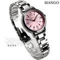 MA6669L-10 MANGO 雅緻名伶不鏽鋼時尚腕錶 女錶 粉/玫瑰金