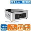 【綠蔭-全店免運】Intel NUC BOXNUC5CPYH(N3050)