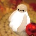 【聖誕限量版】大英雄天團★會呼吸的光 InfoThink BayMax 杯麵 USB LED 造型燈(含遙控器)《隨附送禮精美禮袋》