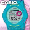 CASIO 時計屋 卡西歐手錶 BABY-G BGD-180FB-2 藍綠 潮汐圖 衝浪 女錶 全新 保固 附發票