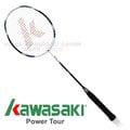【日本 KAWASAKI】川崎 Power Tour BD 567 超輕全碳纖維穿線羽球拍/羽毛球拍(Carbon 強化控球架構設計/附保溫拍袋)-非YONEX VICTOR 藍