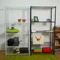 【時尚屋】[5G]五層烤漆層架90x45x180 5GCG-L945B兩色可選/免運費/DIY/台灣製/層架/收納/廚房置物架