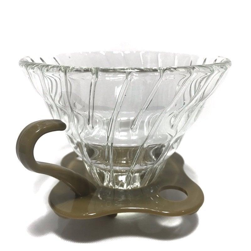 《3557》手工耐熱玻璃咖啡濾杯2-4人份【單入】另有 Tiamo HARIO 濾紙 玻璃咖啡壺 磨豆機 咖啡豆罐 細口壺