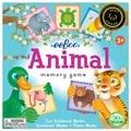美國eeBoo 童趣插畫*學齡前配對記憶遊戲 Pre-School Animal 動物款 (大尺寸餅乾造型卡)